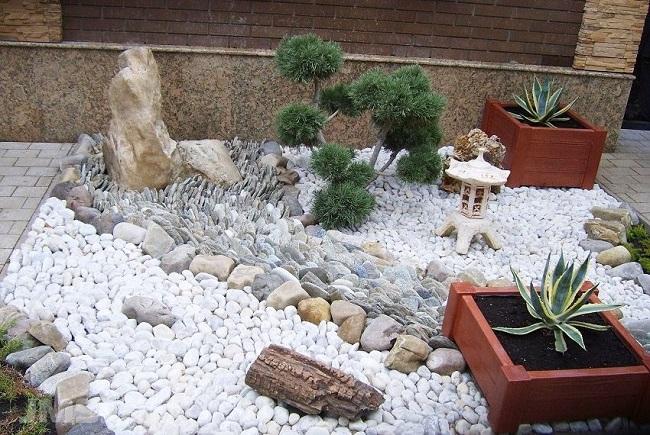 фото: японский сад камней