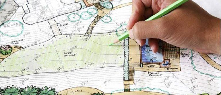 планировка дачного участка своими руками
