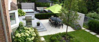 как выбрать место для зоны отдыха на даче