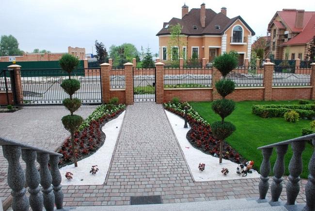 парадная зона частного дома