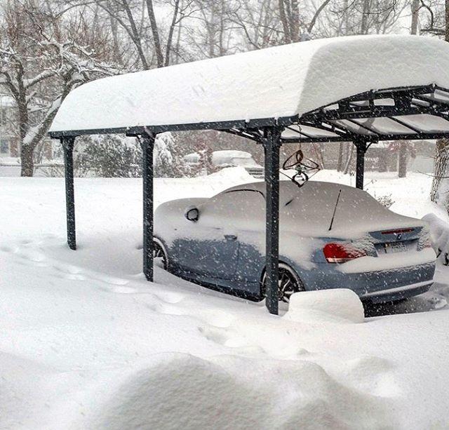 какой навес для авто лучше зимой