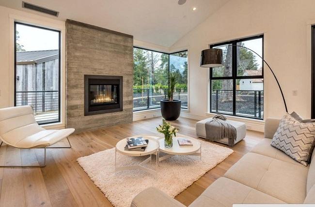 интерьер дома внутри в современном стиле
