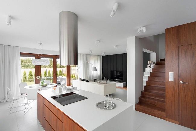 интерьер частного дома минимализм