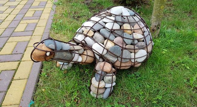 скульптуры из габионов