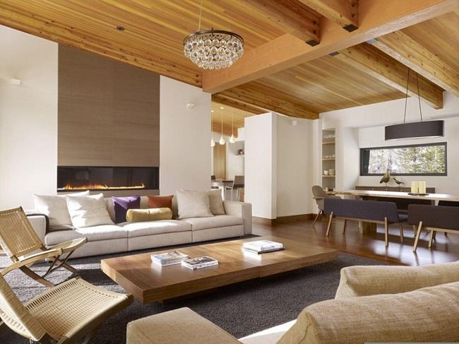 современный дизайн частного дома в стиле модерн