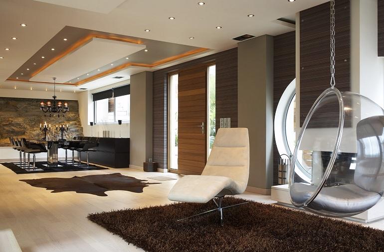 интерьеры частных домов внутри