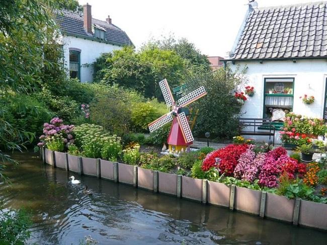 голландский сад в ландшафтном дизайне