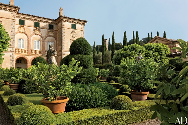 ландшафт в тосканском стиле