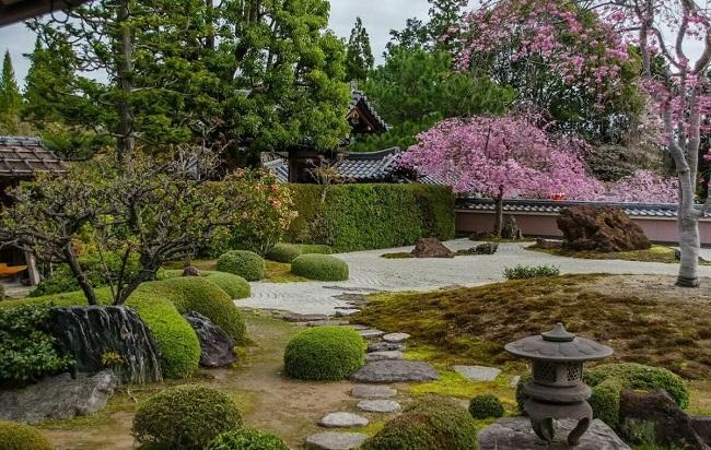 японский стиль в ландшафте