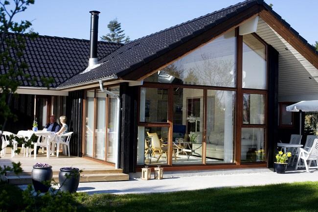 скандинавский стиль дома снаружи