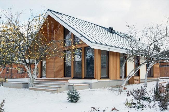 скандинавский стиль в архитектуре дома