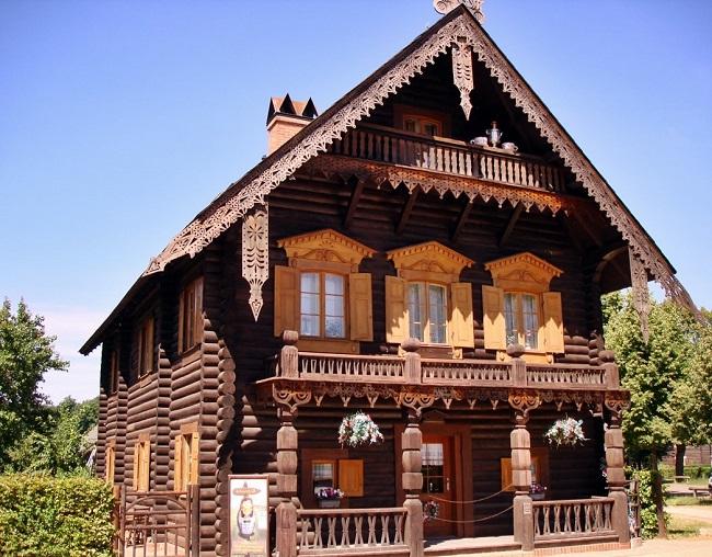 русский деревенский стиль дома