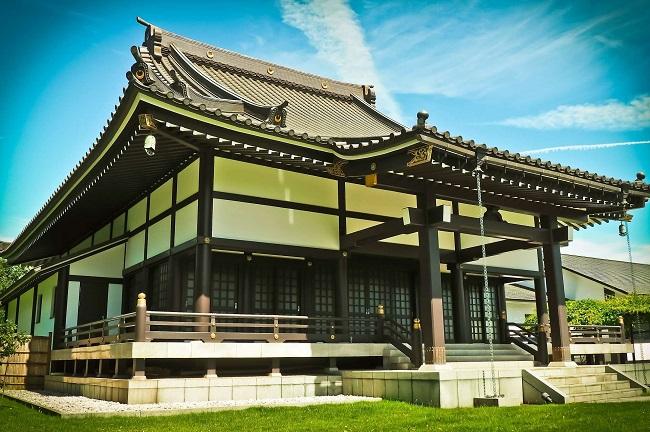 японский стиль в архитектуре дома