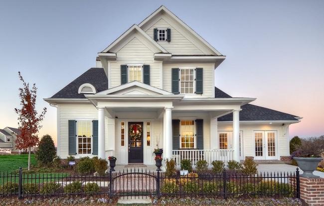 американский классический стиль дома