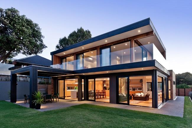 дом в современном стиле хай тек