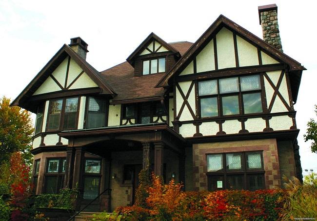 Архитектурный немецкий стиль дома