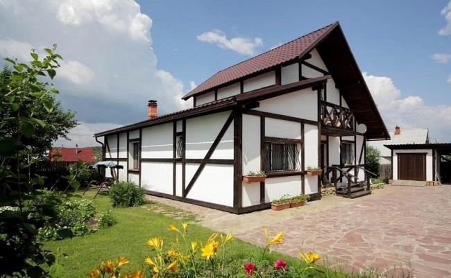 архитектурный скандинавский стиль дома