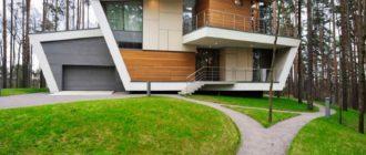 дом в современном стиле с описанием