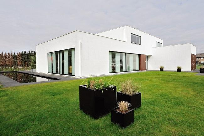 стиль минимализм в архитектуре дома