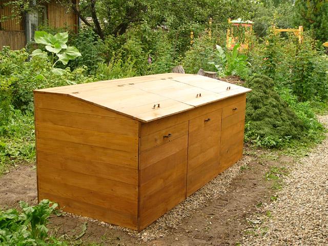 компостный ящик по финской технологии