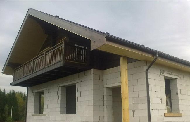 строительство дома в стиле шале