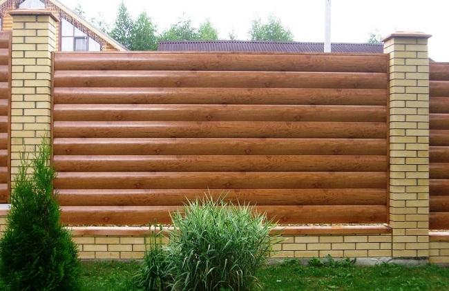 блок хаус металлический для частного дома