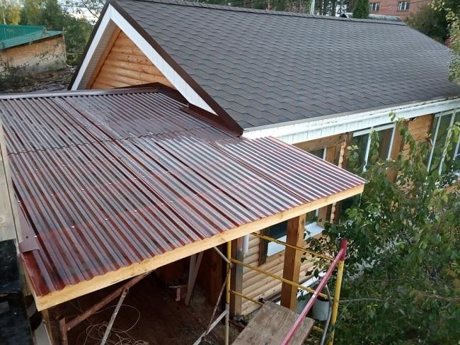 крыша из поликарбоната для открытой веранды