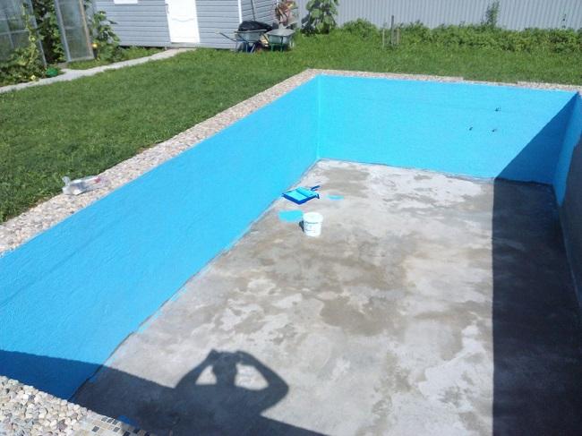 обмазочная гидроизоляция бассейна