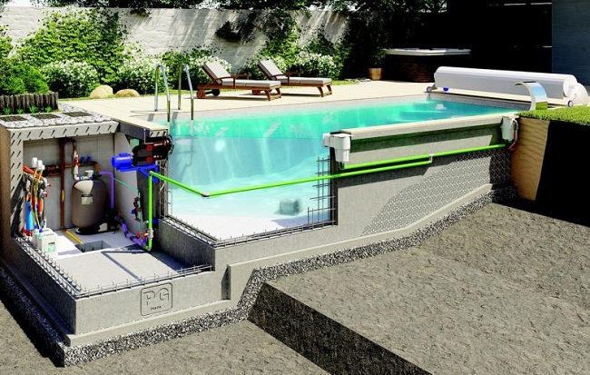 проект монолитного бассейна