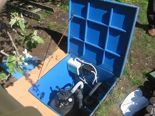 подключение оборудования для бассейна