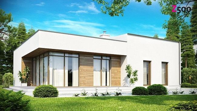 проект дома на 114 м2 хай тек