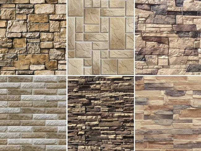 виды декоративного камня для облицовки фасада