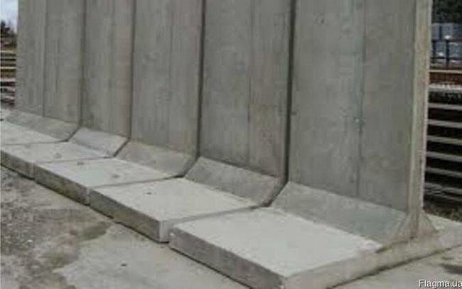 жби подпорные стенки