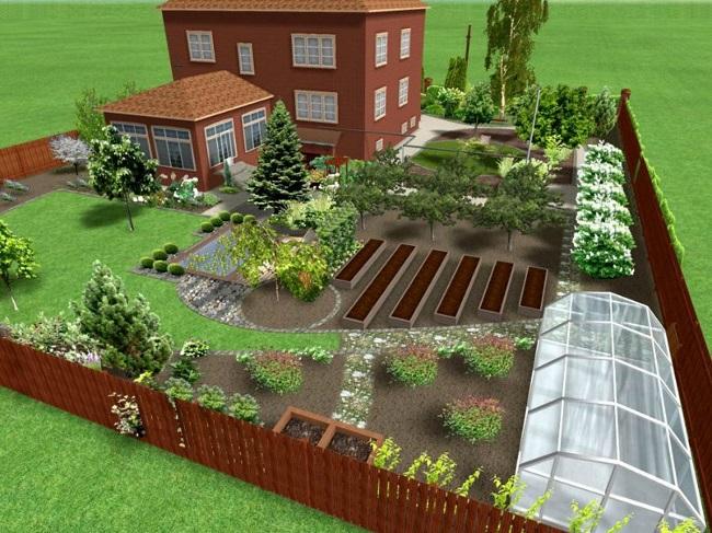 сад и огород на 12 сотках