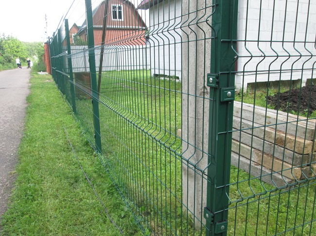 3d забор на дачу