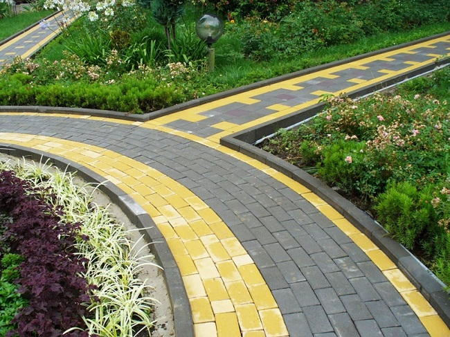 садовые дорожки на 6 сотках