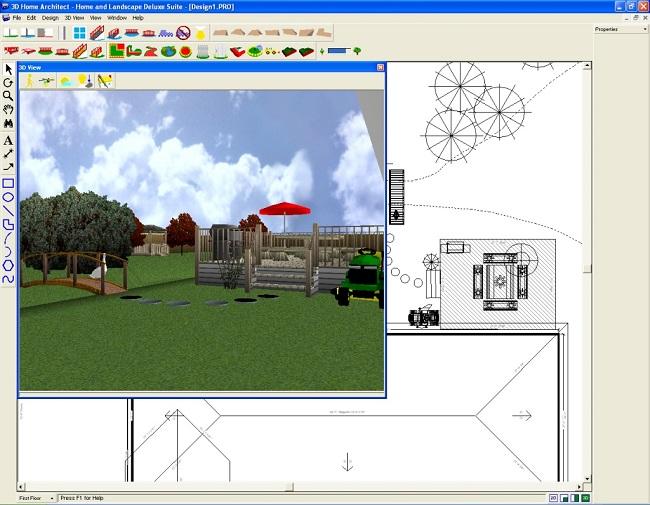 планировщик 3D Home Architect Design Suite Deluxe