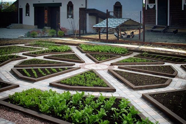 французский декоративный огород