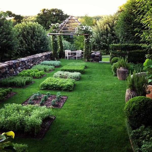английский декоративный огород