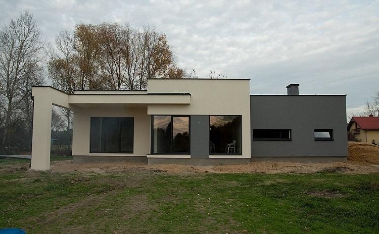 проект одноэтажного дома с отделкой