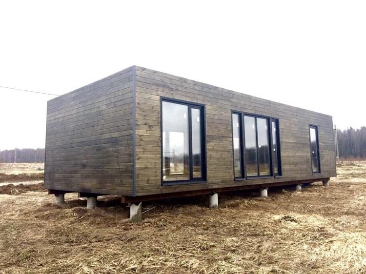 модульный дом без крыши