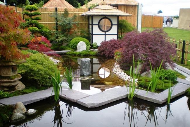 японский стиль в ландшафтном дизайне