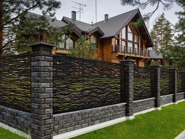 забор из базальтовой нити