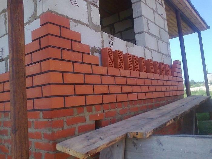 облицовочный кирпич для домов из пеноблоков