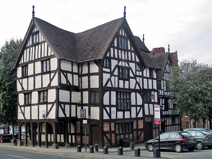 фахверковые дома в Германии 15 век