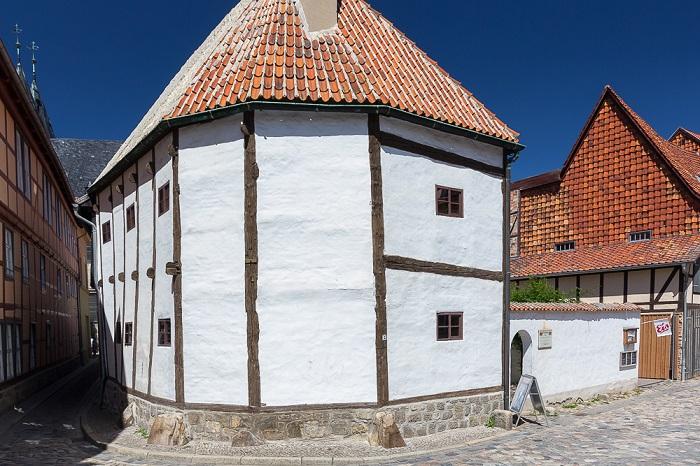 музей фахверка в Кведлинбурге