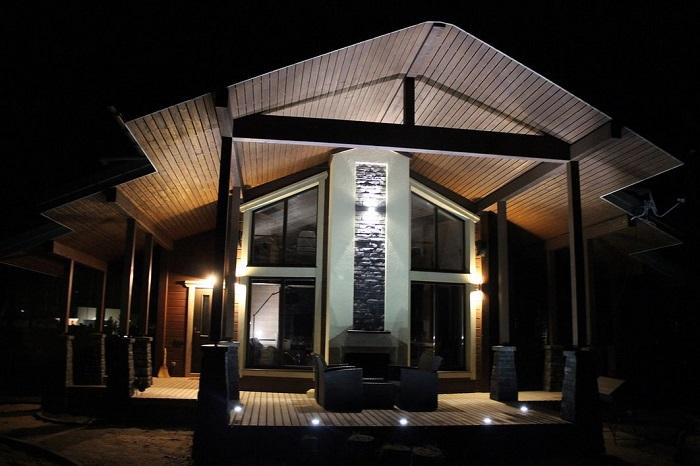 светодизайн частного дома