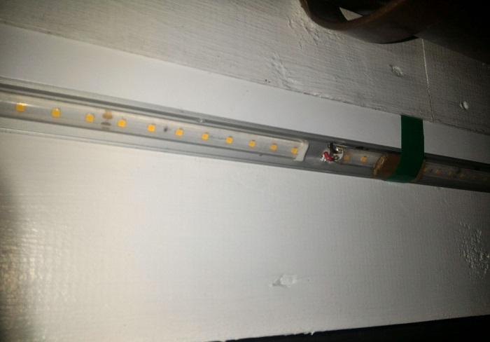 светодиодная лента для фасадов
