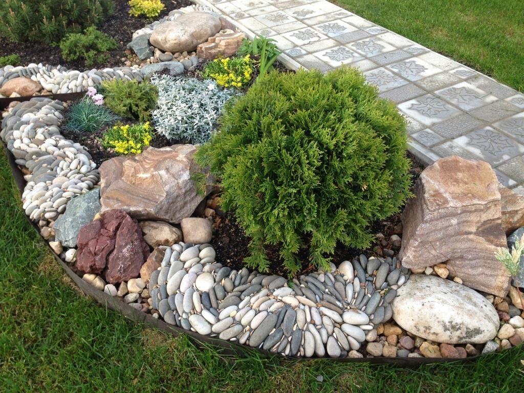 расположение камней в каменном саду
