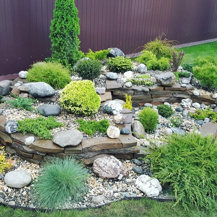 террасированный сад